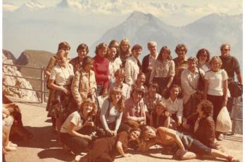 1980, Stockhorn, Švýcarsko