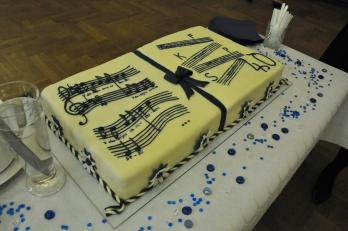 slavnostní dort