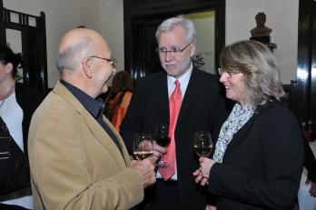 skladatel I. Zelenka a manželé Brychovi