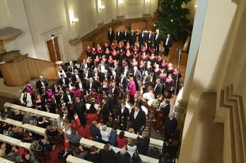 Vánoční koncert v kostele U Salvátora 12. 12. 2016