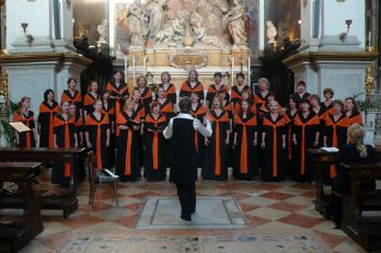 kostel San Moise v Benátkách