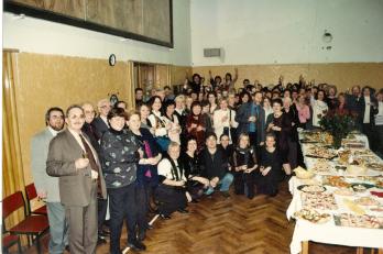 posezení s žáky a přáteli v Sokole Libeň