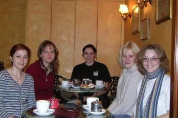Tolosa - v kavárně