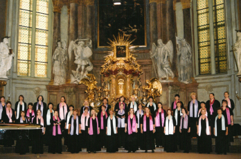 Koncert v kostele sv. Šimona a Judy - 16. 6. 2004