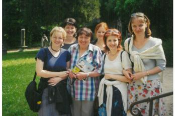 na výletě v Limburku