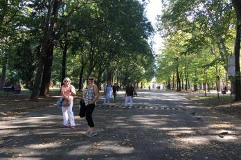 procházka zahradou Boboli