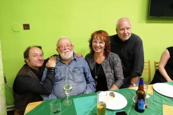 R. Janál, L. Sluka, paní starostka J. Hotmarová a J. Brych