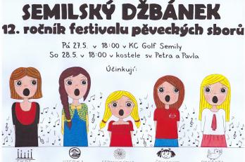 Účast na festivalu Semilský džbánek
