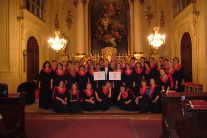 Internationaler Chorwettbewerb Franz Shubert in Vienna (Austria)