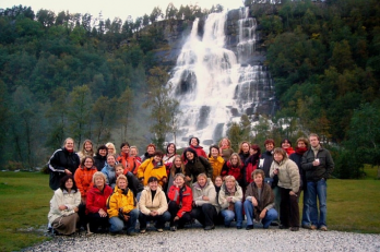 2007, vodopád Tvindefoss (Norsko)