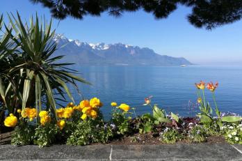 Ženevské jezero - Montreux