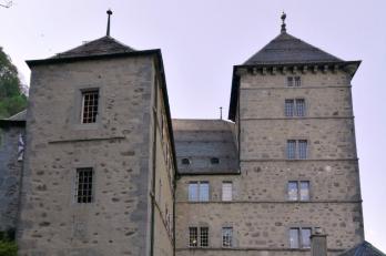 hrad v Saint-Maurice
