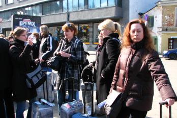 příjezd do Tallinu