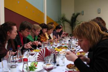 Jekabpils - oběd