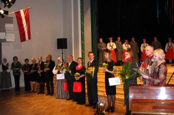 Jekabpils - koncert v kulturním centru