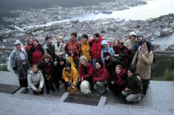 pohled na Bergen