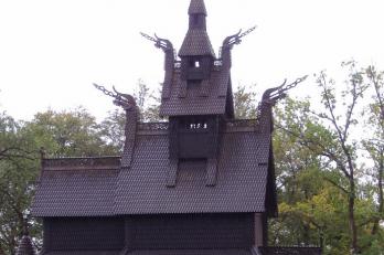 Kostel Fantoft Stavkirke