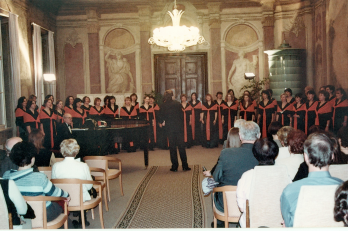 Koncert k 80. narozeninám paní profesorky