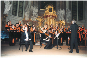 jarní koncert v kostele sv. Šimona a Judy - 16. 4. 2003