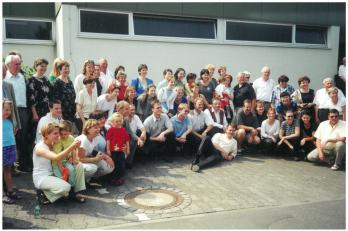 spolu s hostitelským sborem Liederblüte Oberweyer