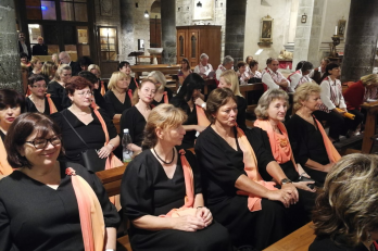 koncert v kostele Chiesa dei Santi Apostoli